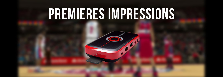 Premières impressions – Avermedia Live Gamer Portable