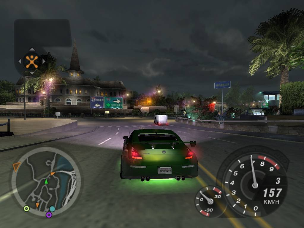 Need for Speed Underground 2, la liberté et les voitures bling bling !