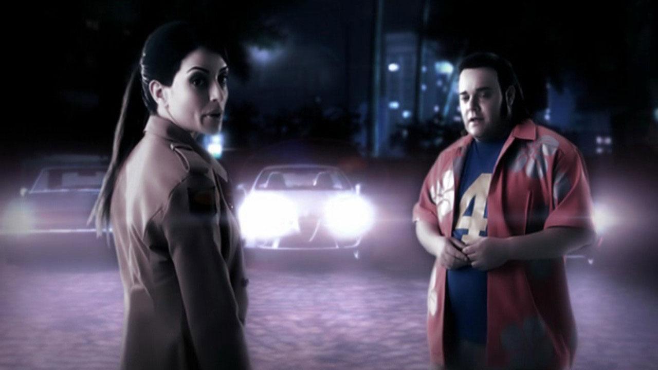 Les cinématiques de Need for Speed Carbon sont pourvues de vrais acteurs.