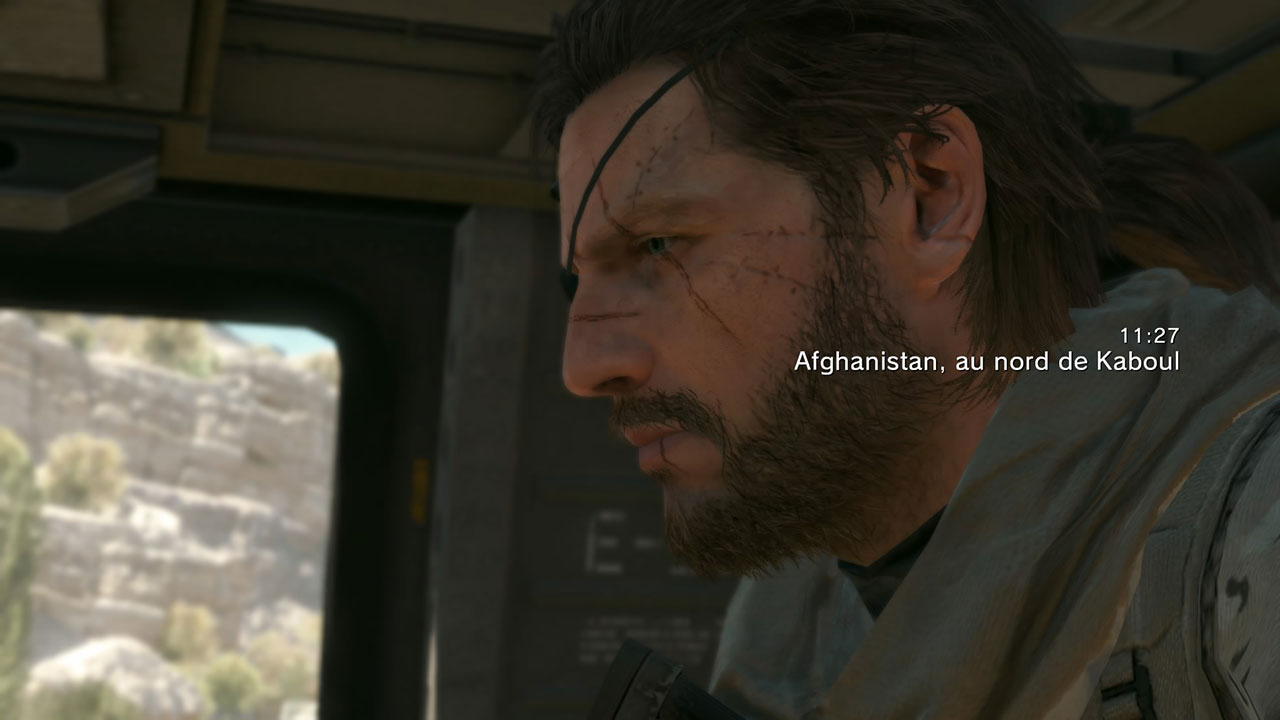 L'Afghanistan, première zone de jeu de Metal Gear Solid 5 The Phantom Pain.
