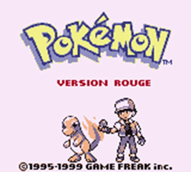 Mes aventures Pokémon ont débuté avec la version Rouge !