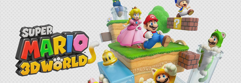Début de semaine mouvementé et Super Mario 3D World