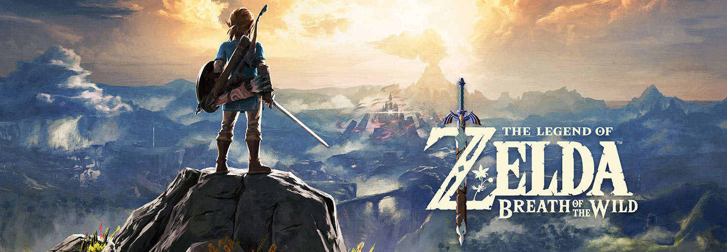 Premiers pas sur The Legend of Zelda Breath of the Wild