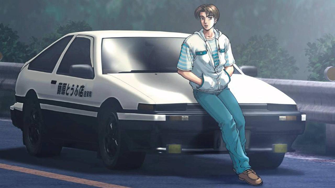 Initial D nous fait suivre les aventures de Takumi et de sa 86.