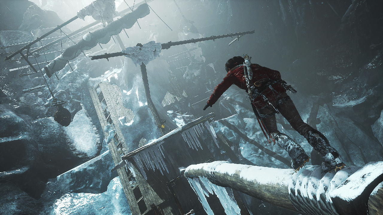 La Sibérie, dans Rise of the Tomb Raider, elle ne fait pas de cadeau.