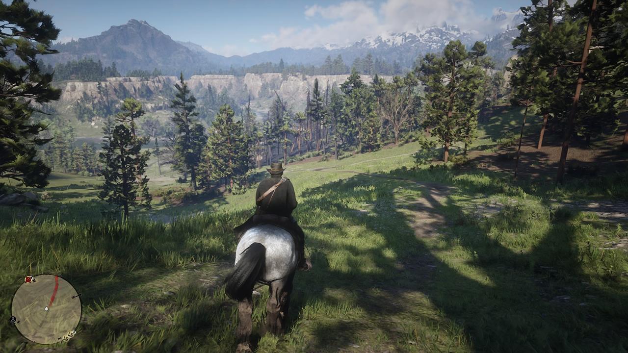 Tant de vastes horizons à explorer dans Red Dead Redemption 2...