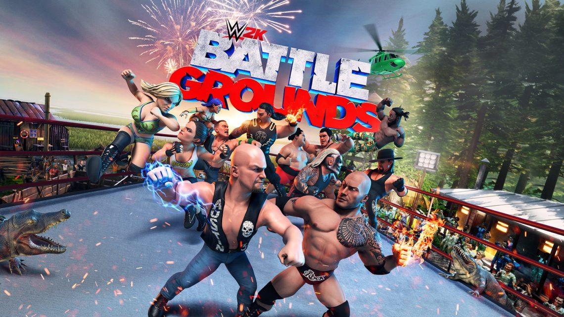 WWE 2K Battlegrounds – De la castagne bien fun